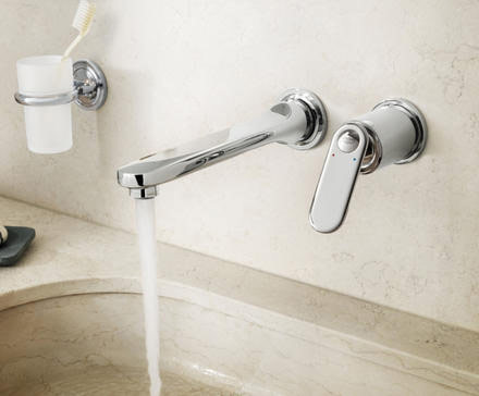 Grohe veris two hole basin mixer