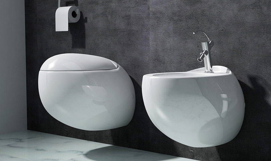 Laufen Alessi wall hung wc