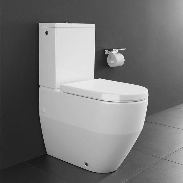 Laufen Pro Close Coupled Toilet Back to Wall Rear Inlet