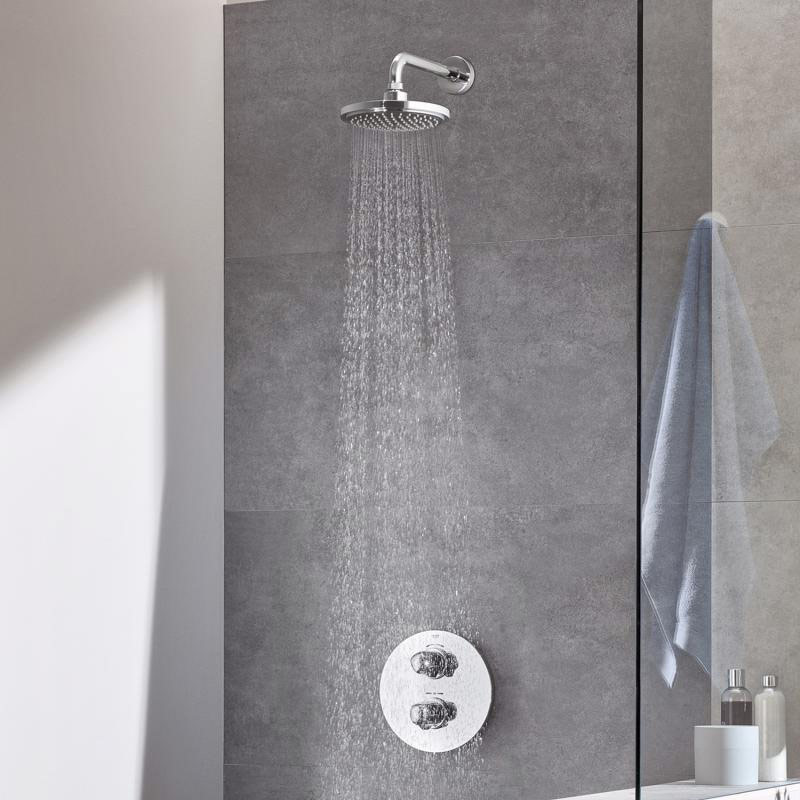 Grohe grohtherm 1000 new concealed shower system
