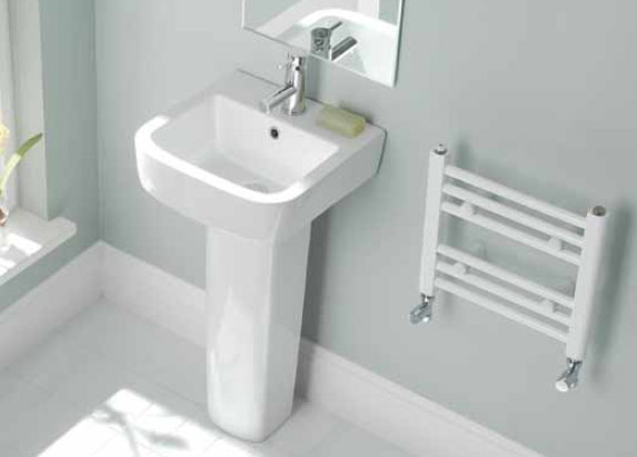 Splash Biavia Straight Bathroom Radiator