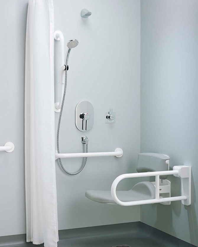 Shower Mobility Impaired