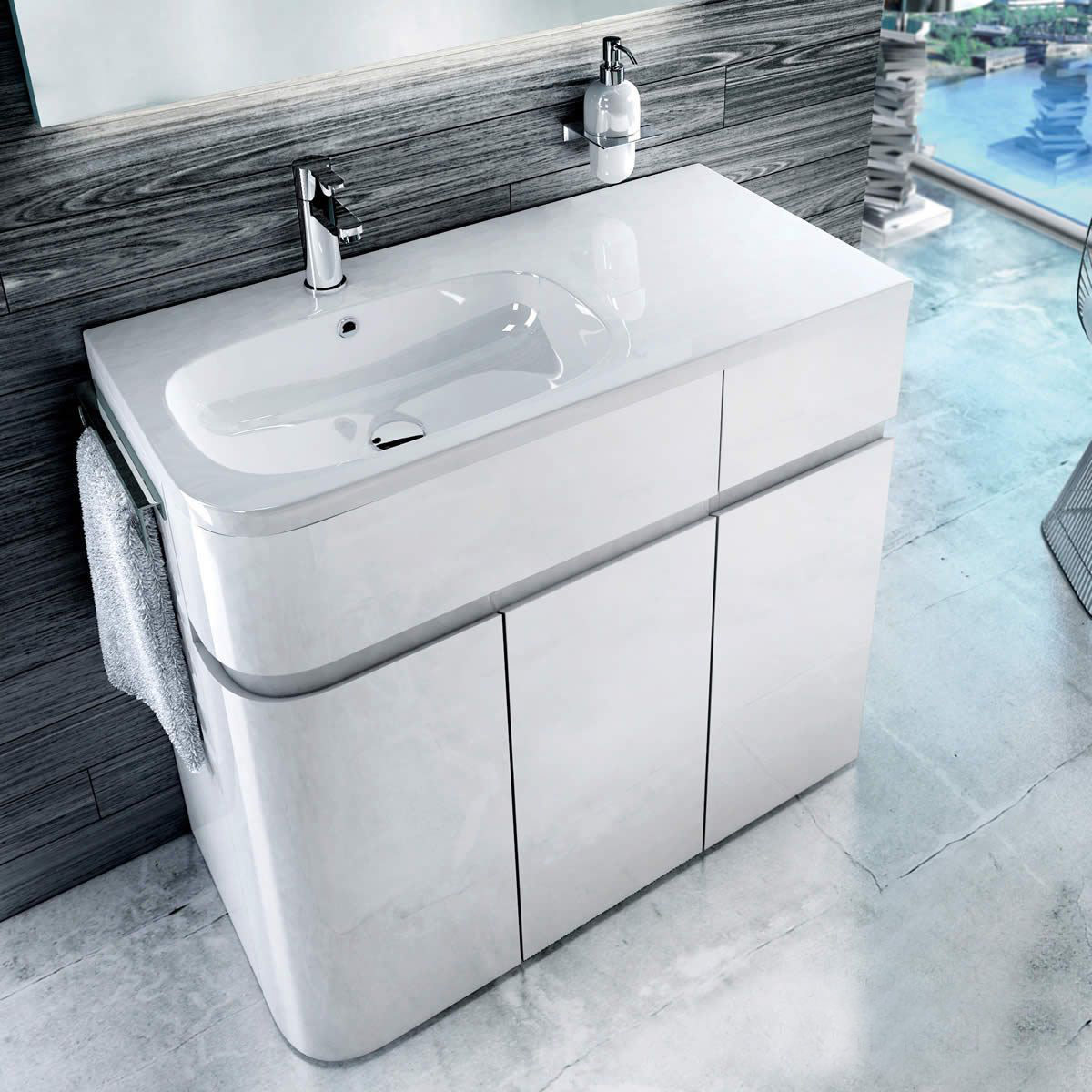 Aquacabinets vanity unit