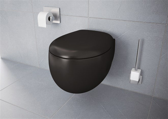 Vitra Memoria Black Wall hung WC