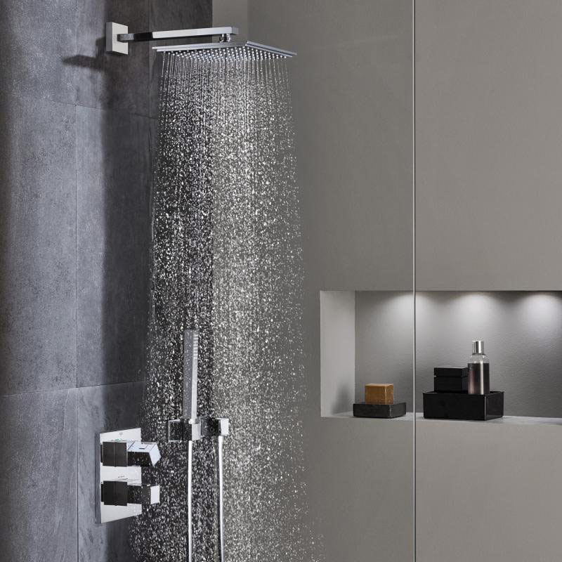 Grohe grohtherm cube dusch system rainshower allure