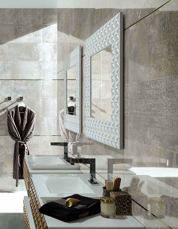 Porcelanosa 44 wall tiles