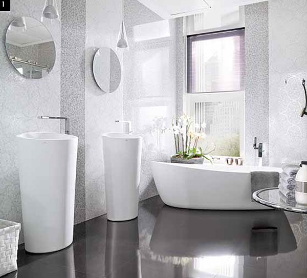 Porcelanosa 46 wall tiles