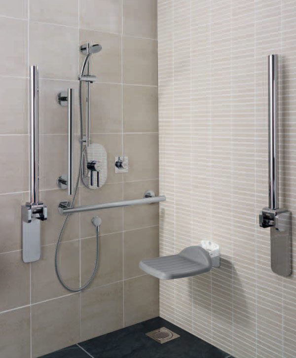 Ideal Standards Hotel Solutions mobility impaired bathroom